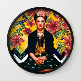 Frida Tropical Wall Clock
