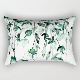 Ivy on the Wall Rectangular Pillow