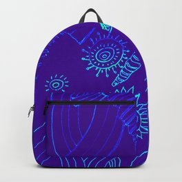 Blue Energy Transformation Backpack
