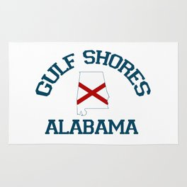 Gulf Shores - Alabama. Rug