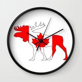 "Moose ""Canada"" Wall Clock"