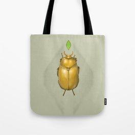 Gold bug Tote Bag