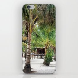 Bungalows on Palm Beach iPhone Skin