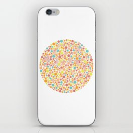 Color blind iPhone Skin