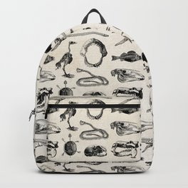 Various Animal Skeletons Backpack