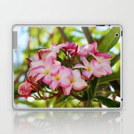 Pink Plumeria Laptop & iPad Skin