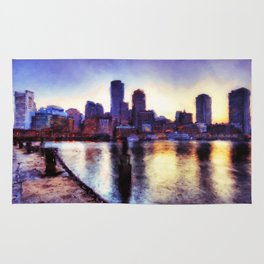 Boston, Panorama Rug