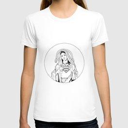 Millennial Mother Mary T-shirt