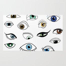 Eye game Rug