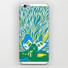 Guitar Explosion iPhone Skin
