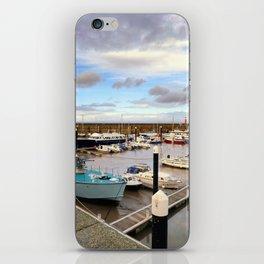 Watchet Marina Somerset England iPhone Skin