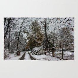 Winter Corner Rug