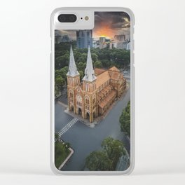 Notre-Dame Cathedral Basilica of Saigon Clear iPhone Case