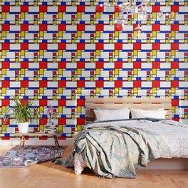 Piet Pattern Wallpaper