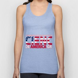 SCIENCE MADE AMERICA GREAT Unisex Tank Top