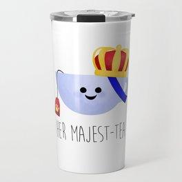 Her Majest-tea Travel Mug