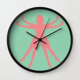 The Earthian woman Wall Clock