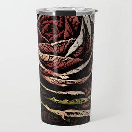 Cabbage Woodcut Travel Mug