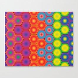 Spectra Hexa Canvas Print