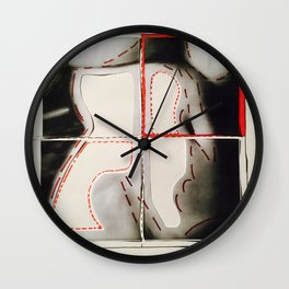 PedonPixels Wall Clock