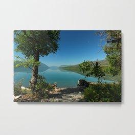 Moody Lake McDonald Metal Print