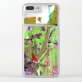 Green Earth Boundary Clear iPhone Case