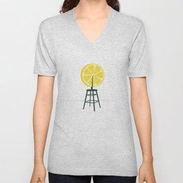 Lemon (Du)Champ Unisex V-Neck