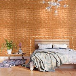 ACME Orange Shadow Puppets Wallpaper