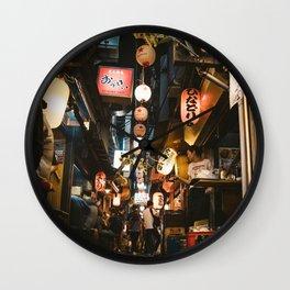 Omoide Yokocho. Wall Clock