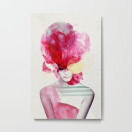 Bright Pink - Part 2 Metal Print