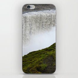 Noisy waterfall iPhone Skin