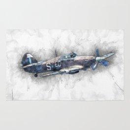 Hurricane Sketch Rug