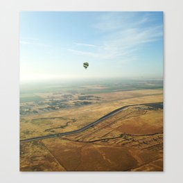 Napa Valley From Above Canvas Print