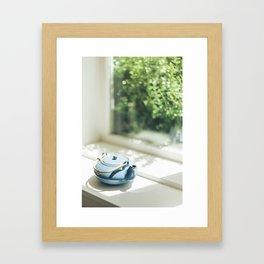 Tea Kettle Framed Art Print
