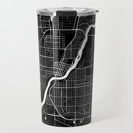 Saskatoon - Minimalist City Map Travel Mug
