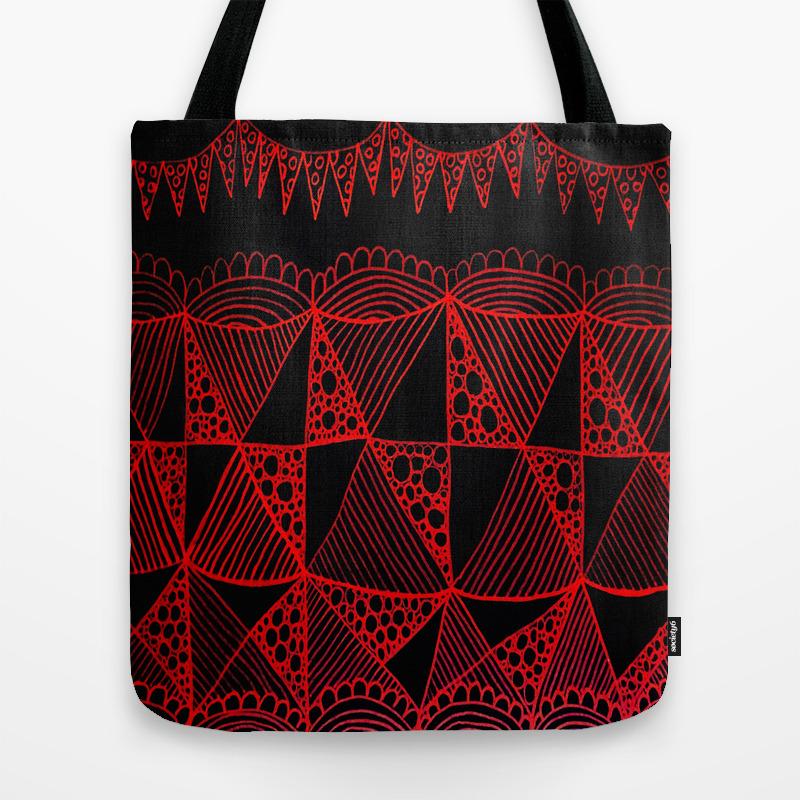 Black Jack Tote Bag by Kerrieabello TBG3471889