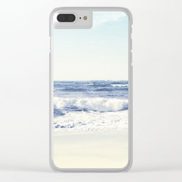 North Shore Beach Clear iPhone Case