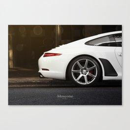 Porsche On Vossens Canvas Print