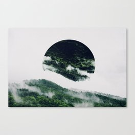 The Upsidedown Canvas Print