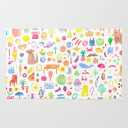 A few of my favourite things Rug