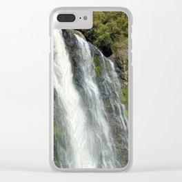 Hunua Falls, NZ Clear iPhone Case