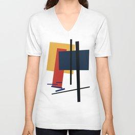 Tribute to K. Malevich (n.1) Unisex V-Neck