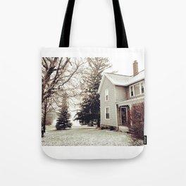 Winter Wonderland in Michigan Tote Bag