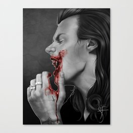 Salivate Canvas Print