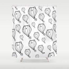 Hot tea Shower Curtain