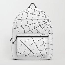 Spider | Webs | Spider web | Web design | Halloween Decor Backpack
