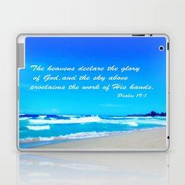 Psalm 19 Laptop & iPad Skin