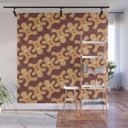 Ginger Bread Men Wall Mural