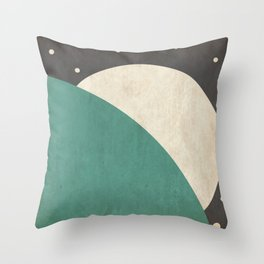 Loom- Space is Hot Throw Pillow