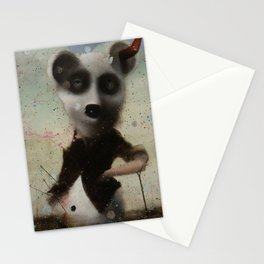 an end in flight Stationery Cards